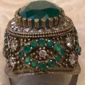 Vintage ring real stones 1900 ring